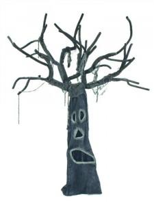 hororový strom