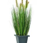 umělý rákos a trávy